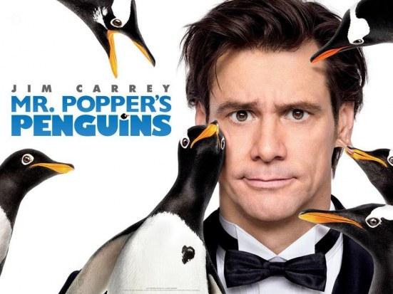 Penguins Mr Poppers Movies