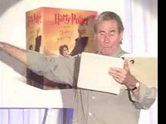 Jim Dale Reads Harry Potter In Party Part Of