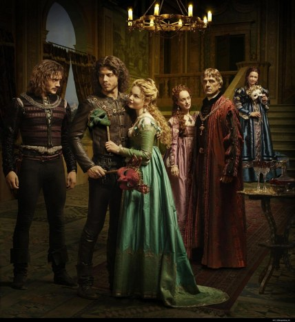 Picture Of Jeremy Irons Joanne Whalley Holliday Grainger Lotte Verbeek David Oakes And Fran Ois Arnaud In The Borgias Large Picture