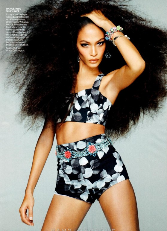 Fashion Scans Remastered Joan Smalls Vogue Usa May Scanned By Vampirehorde Hq