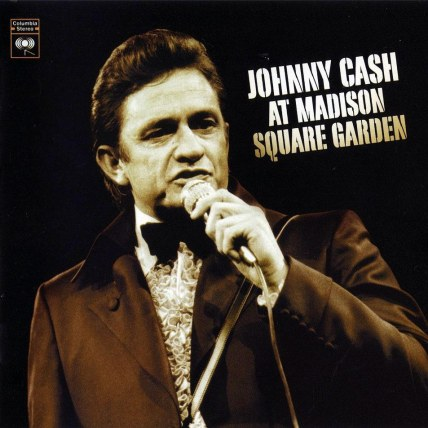 Johnny Cash At Madison Square Garden Frontal Album