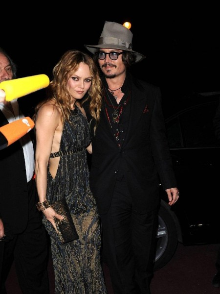 Johnny Depp And Vanessa Paradi