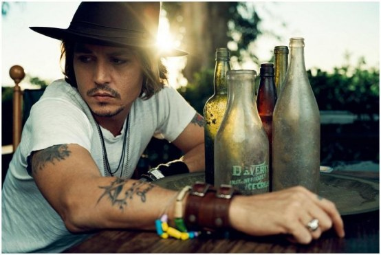 Johnny Depp Esquire May