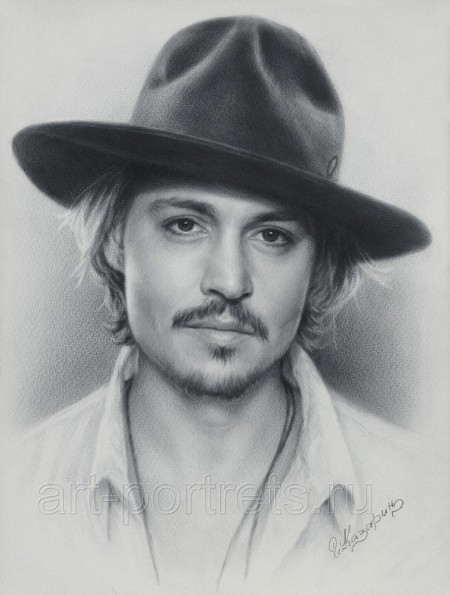 Johnny Depp Portrait