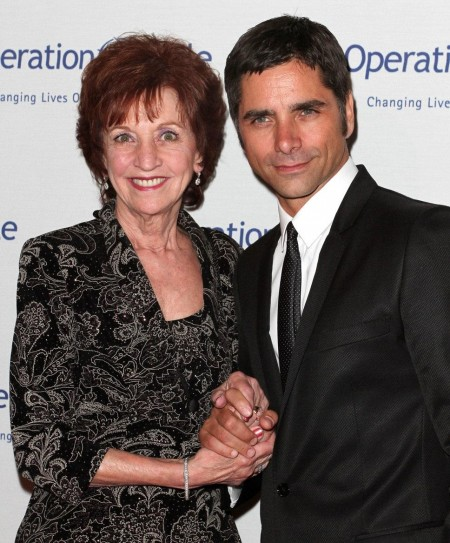 John Stamos And His Mother Lor
