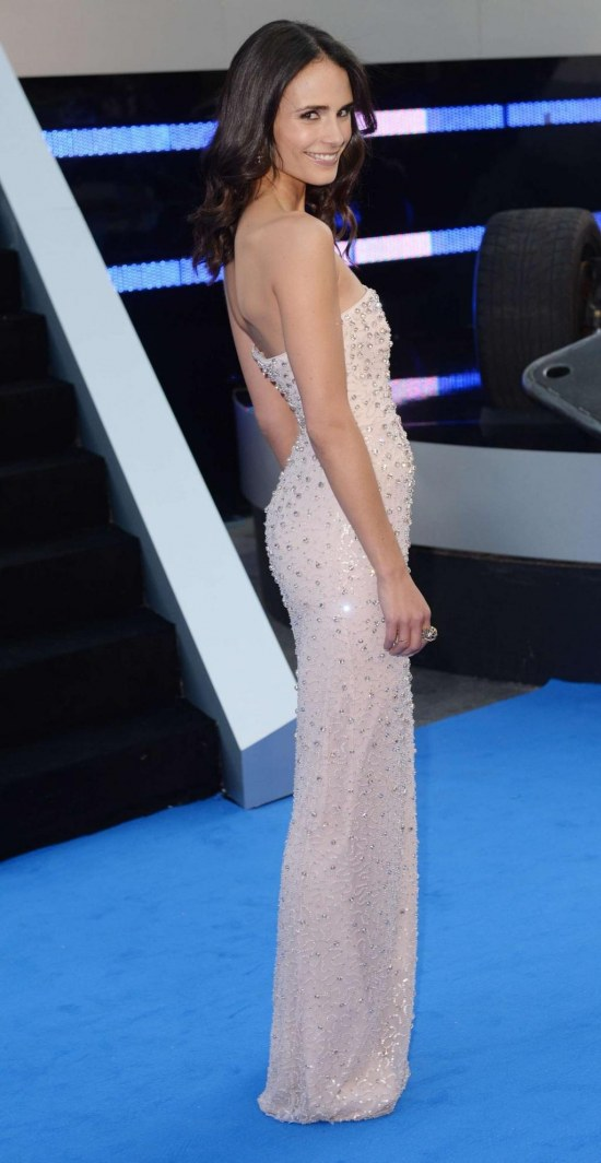 Jordana Brewster At The Fast And Furious Premiere Fast And Furious