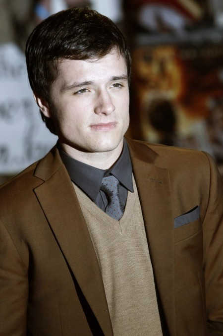 Actor Josh Hutcherson Poses For Photographers As He Arrives For The Eu
