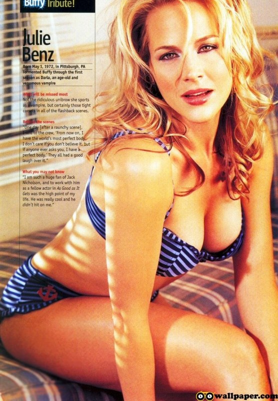 Oo Julie Benz Cover Hot