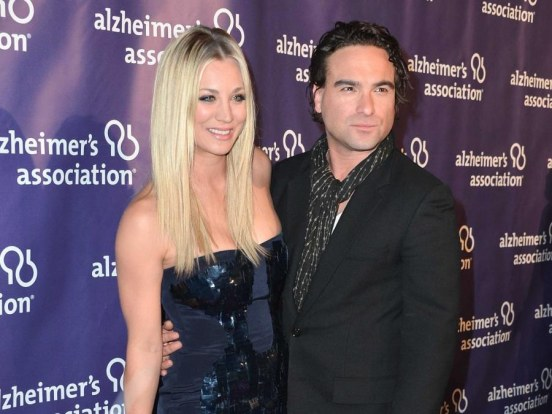 Kaley Cuoco And Johnny Galecki And Johnny Galecki