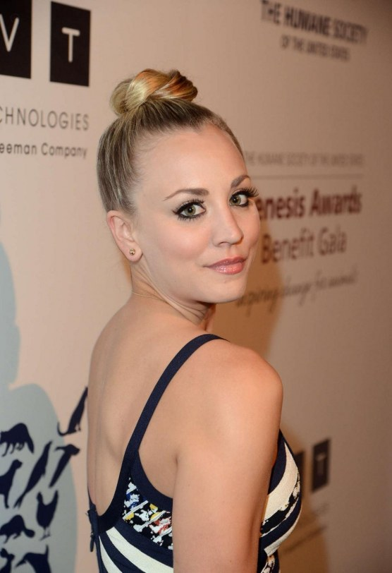 Kaley Cuoco At Genesis Awards Benefit Gala