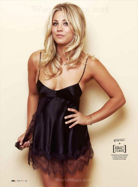 Kaley Cuoco Esquiremexico Lo Hot