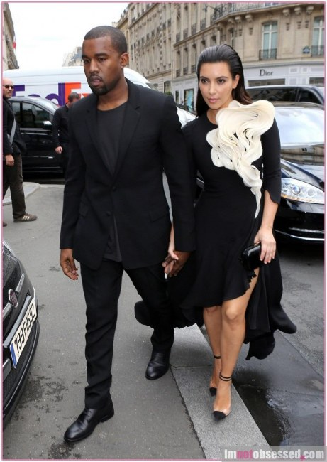 Kim Kardashian Kanye West And Kim Kardashian