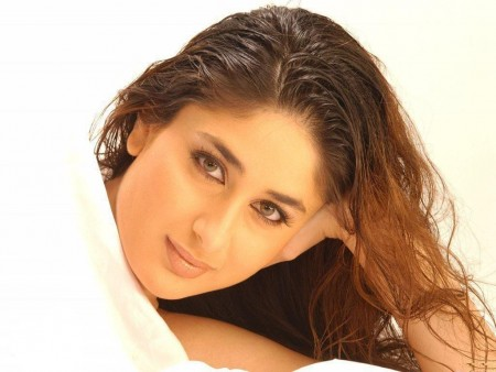 Kareena Kapoor White Dress Lovely Hairs