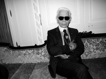 Karl Lagerfeld Ugly Glasses Without Glasses
