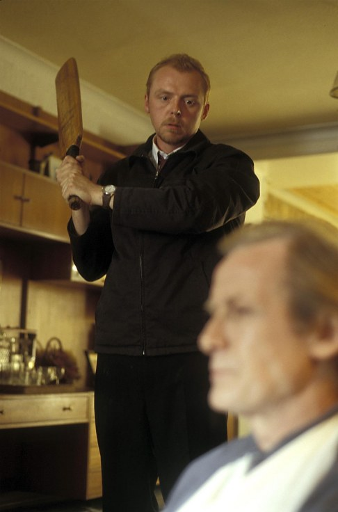 Picture Of Kate Ashfield And Simon Pegg In Shaun Of The Dead Large Picture