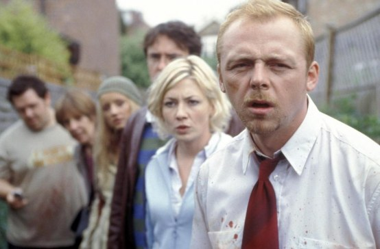 Picture Of Kate Ashfield And Simon Pegg In Shaun Of The Dead Large Picture Nick Frost