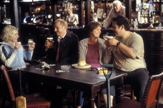 Picture Of Kate Ashfield Nick Frost Simon Pegg And Penelope Wilton In Shaun Of The Dead Large Picture Nick Frost
