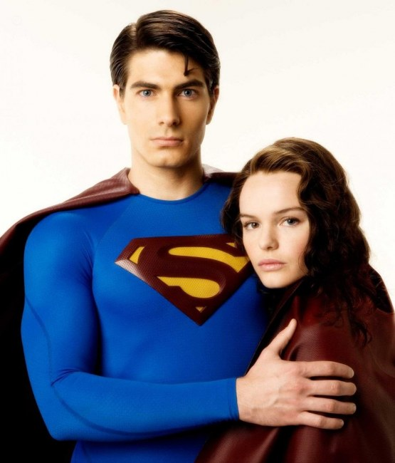 Brandon Routh As Superman And Kate Bosworth As Lois Lane Star In Warner Bros Pictures And Legendary Pictures Action Adventure Superman Returns Photo By David James Superman