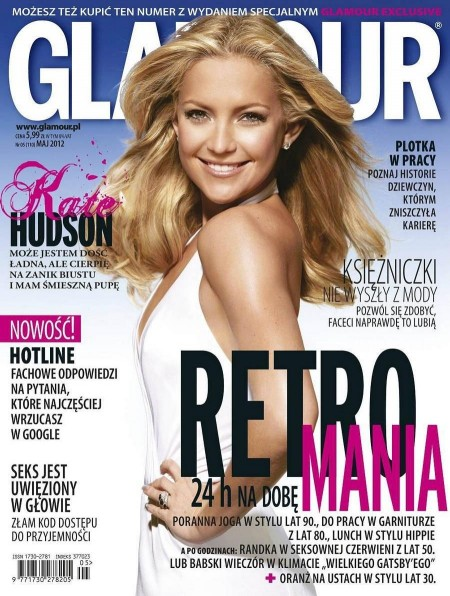 Kate Hudson Glamour Poland Cover