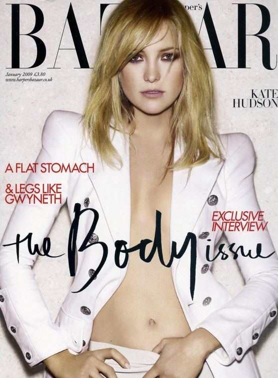 Kate Hudson Harpers Bazaar Magazine January Kh