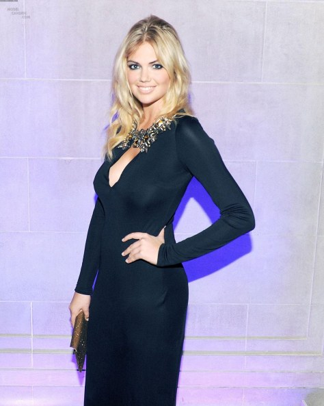 Kate Upton At The Launch Of Cr Fashion Book At The Frick Collection In New York Fashion