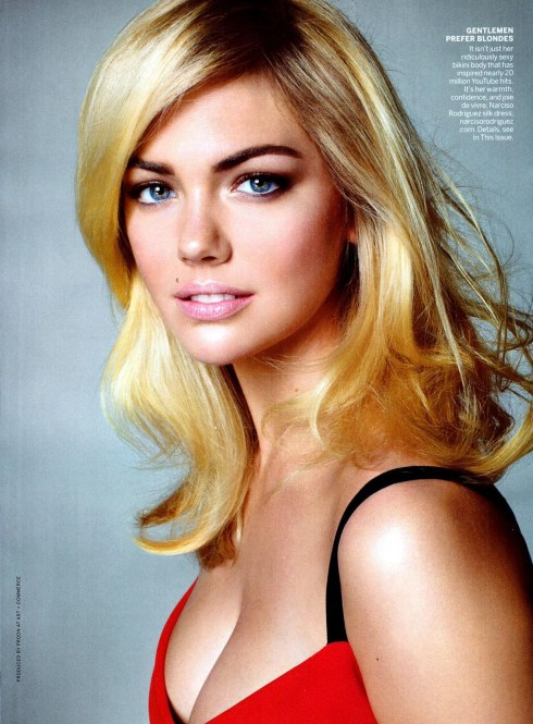 Kate Upton In Vogue Magazine November Issue