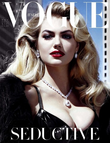 Kate Upton Vogue Italia Cover Fat