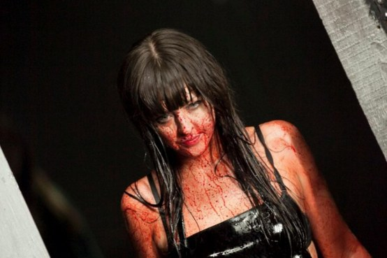 Katharine Isabelle In American Mary Boots