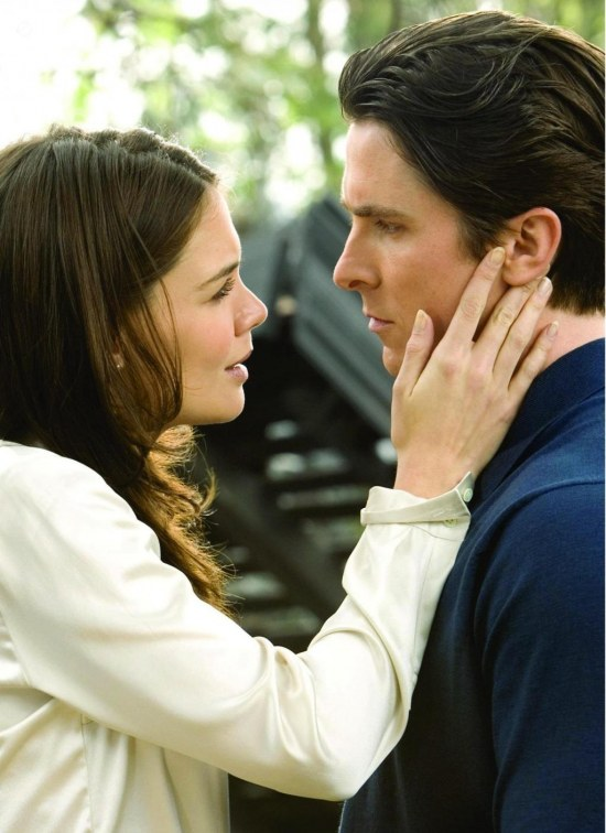 Picture Of Christian Bale And Katie Holmes In Batman Inceputuri Large Picture Batman