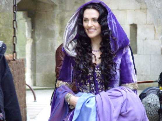 Katie Merlin On Set Katie Mcgrath