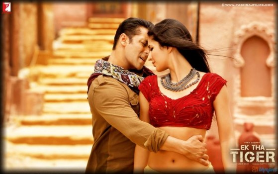 Katrina Kaif And Salman Khan In Mashallah Song Mashallah