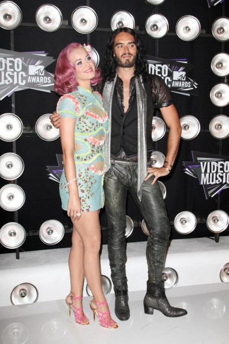Katy Perry And Russell Brand And Russell Brand