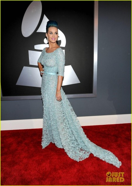 Katy Perry Grammy Awards Red Carpet