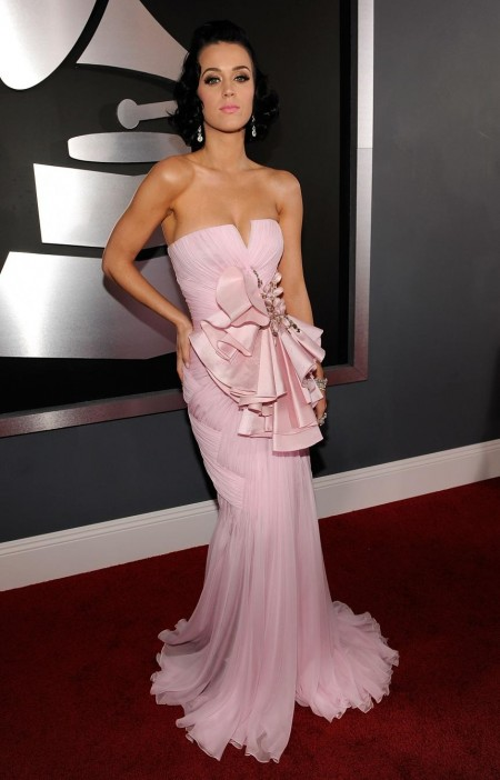 Katy Perry Pink Dress Red Carpet