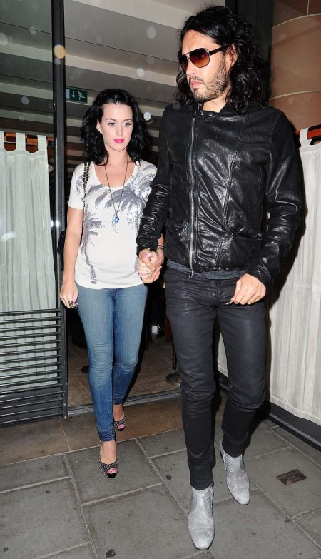Russell Brand Katy Perry And Russell Brand