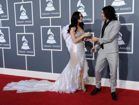 Russell Brand Katy Perry Two Red Carpet