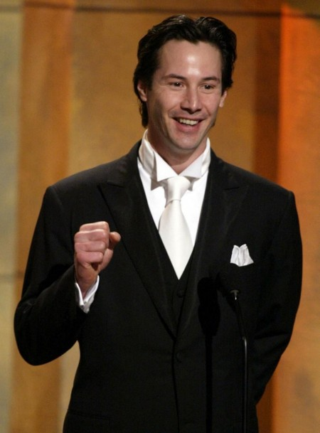 Actor Keanu Reeves Speaks About Actor Denzel Washington During The Young