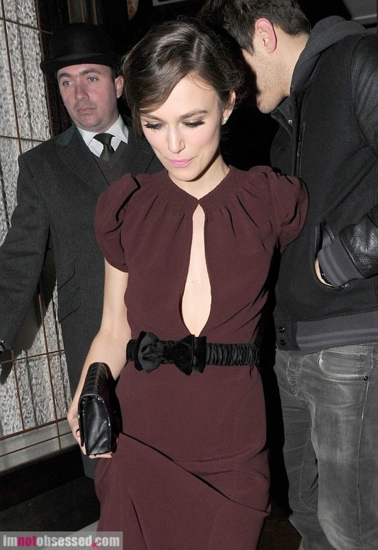 Keira Knightley Heads Home From Afterparty