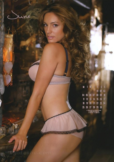Kelly Brook Calendar Ass