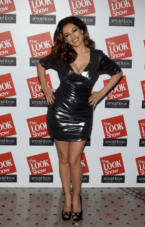 Kelly Brook The Look Fashion Show Fashion