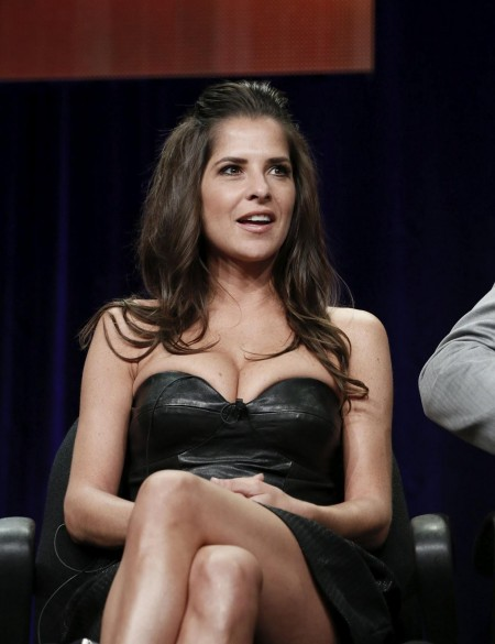 Kelly Monaco Cleavage Leggy At Dancing Wid The Stars General Hospital Panels In Beverly Hills July
