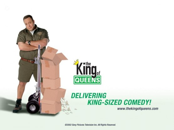 Kevin James In The King Of Queens Tv Series Wallpaper Wallpaper