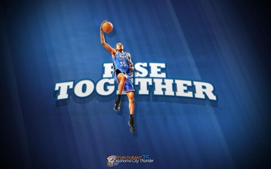 Kevin Durant Rise Together Wallpaper Basketwallpaperscom Wallpaper