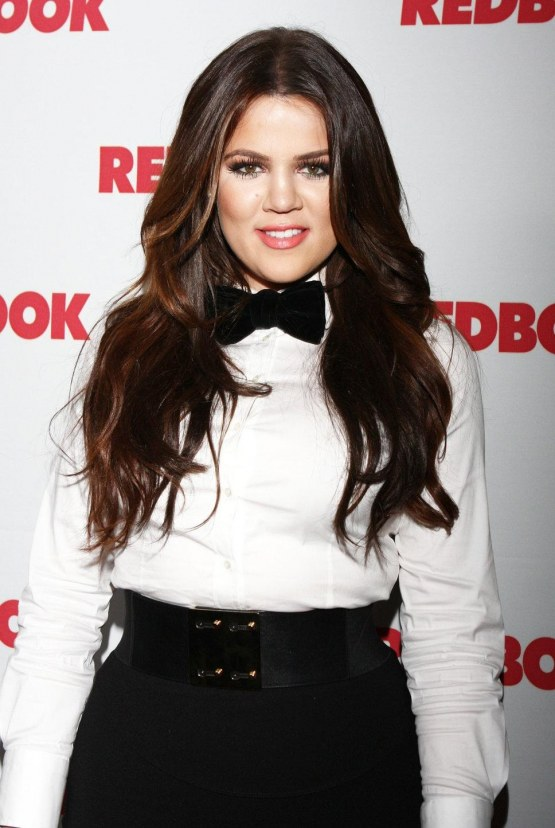 Khloe Kardashian Black Bow Fashion