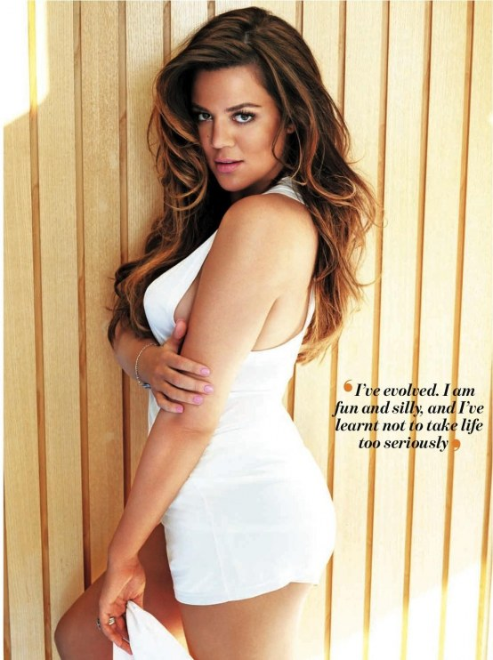 Khloe Kardashian Cosmo South Africa Shoot