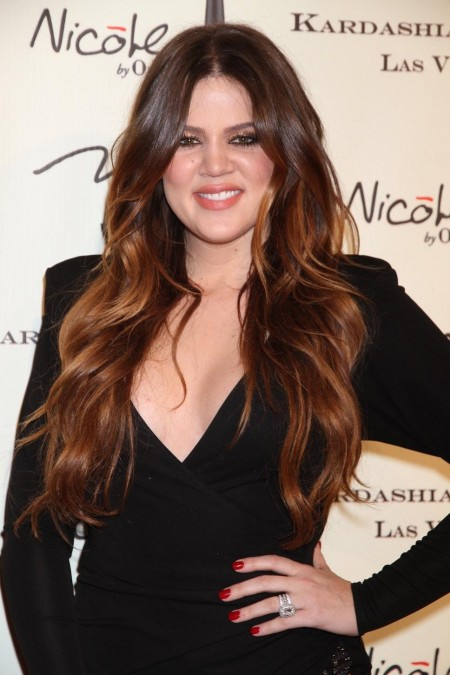 Khloe Kardashian Long Brown Ha Hair