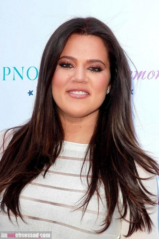 Khloe Kardashian Rocks The Purple Carpet Body