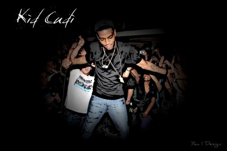 Kid Cudi With Text