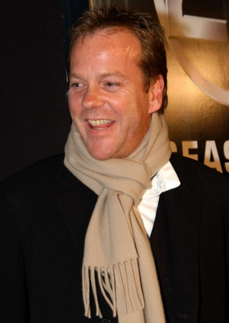 Kiefer Sutherland Season Dvd Release Party