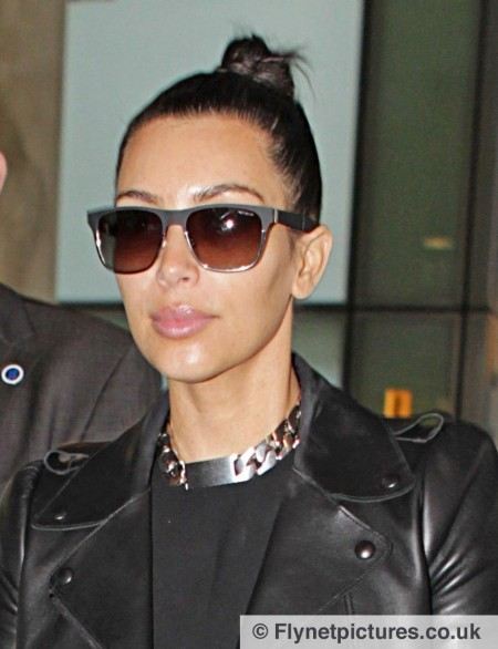 Kim Kardashian Arrives London Pics Body